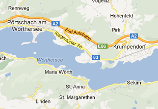 Woerthersee foreign terms for geographic entities