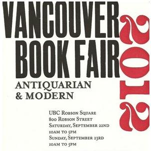 Vancouver Book Fair